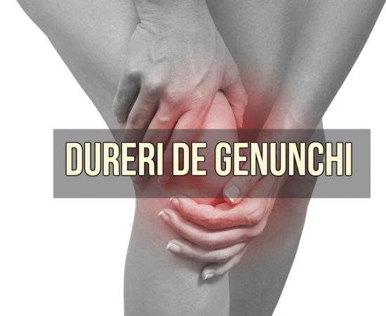 dureri de genunchi