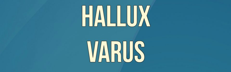 hallux varus