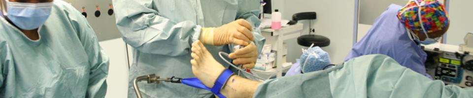 indicatii artroscopiei de glezna