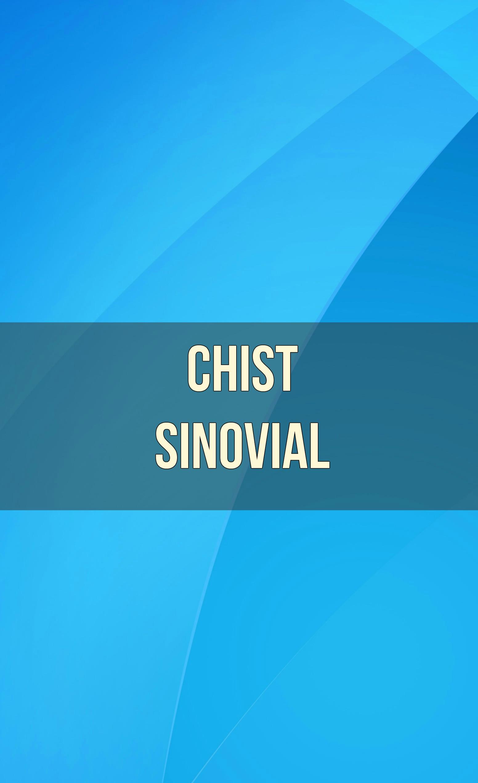 chist sinovial